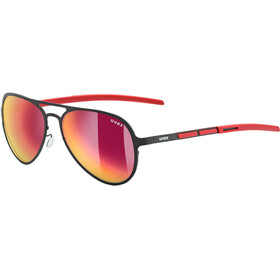 UVEX LGL 30 Pola Bike Glasses red/black